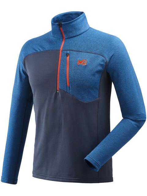 Millet Technostretch Zip Shirt Men Ink/Heather Ink